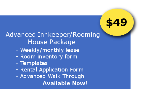 NEed Forms For Renting Out Rooms?